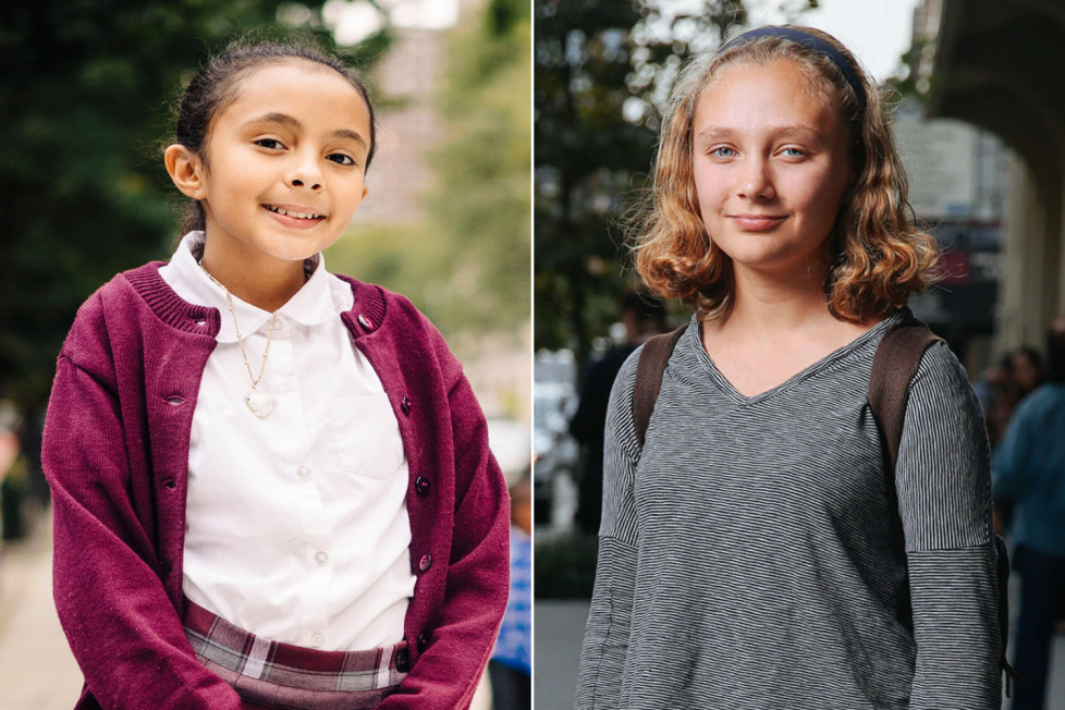 New York Post: How two girls tell two different stories about growing up in NYC